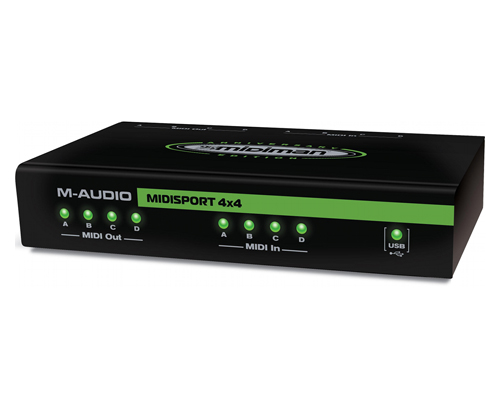 M-AUDIO MIDISPORT 4X4 WINDOWS 10 DRIVERS