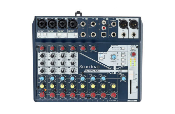 Soundcraft Notepad 12FX1