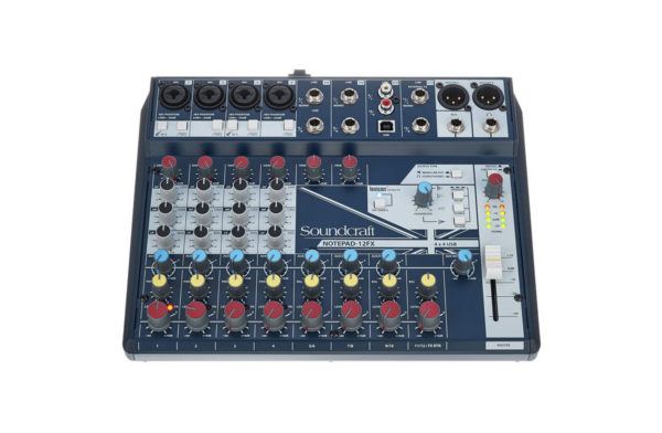 Soundcraft Notepad 12FX3