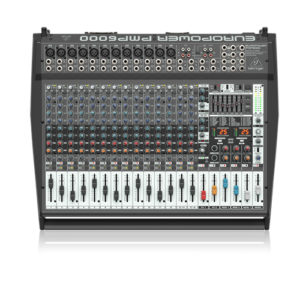 Behringer Europower PMP6000 20-channel 1600W Powered Mixer