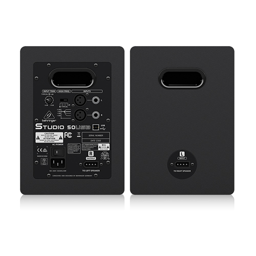 Behringer Studio 50USB 5″ Powered Studio Monitors with USB