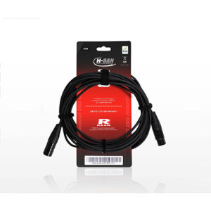 DMX CABLE XLRF-XLRM 5PIN 10m